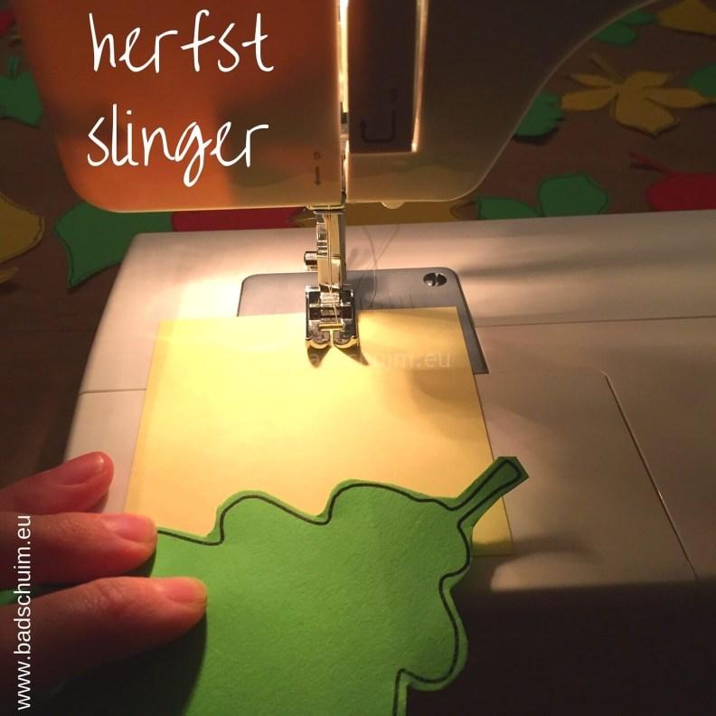 Herfstslinger maken met papier I stap 02 I gemaakt door het creatief lifestyle blog Badschuim