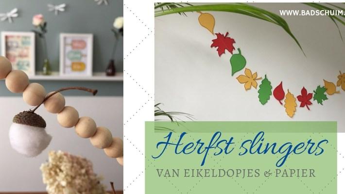 Herfstslingers I gemaakt door het creatief lifestyle blog Badschuim