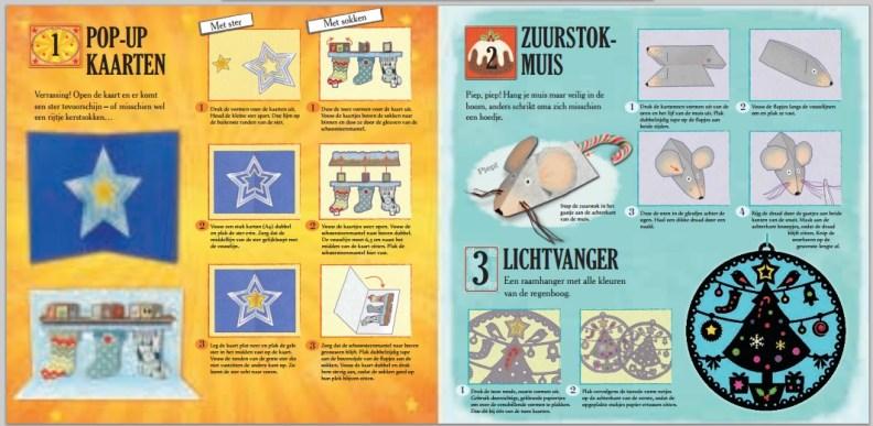 Creatief aftellen naar kerst - voorbeeld bladzijde 1
