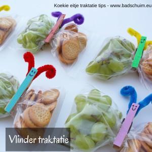 vlinder traktatie - Koekie eitje traktatie tips - vlinder traktatie I te vinden op creatief lifestyle blog Badschuim