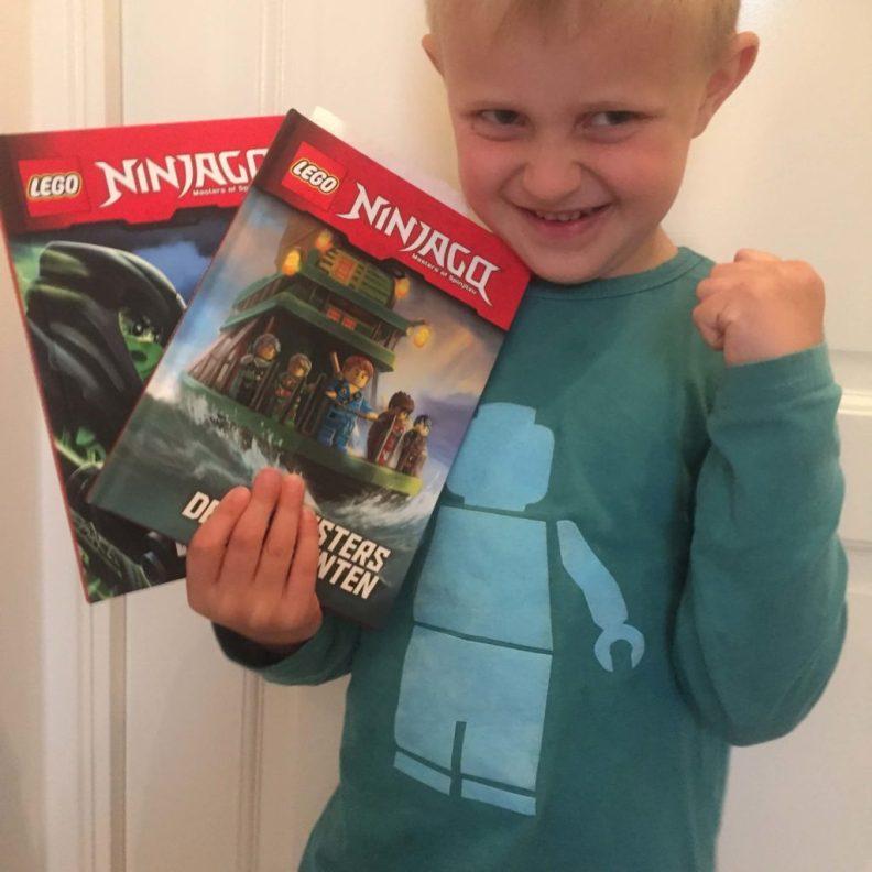 LEGO NINJAGO boeken, LEGO, lezen voor kids, jeugdboeken