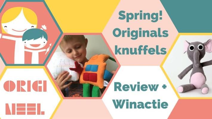 Spring! Originals: 100% originele knuffels van super zacht fleece. Kant en klaar maar ook op bestelling van jouw eigen tekening / ontwerp! Lees onze review.