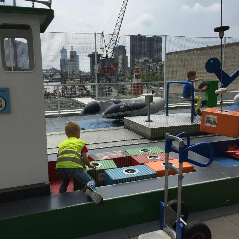 Dagje Maritiem Museum Rotterdam - Professor Plons tentoonstelling