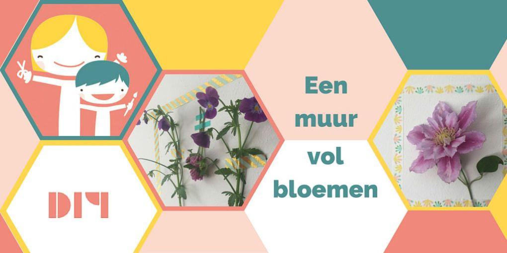 Een muur vol bloemen – haal de zomer in huis!