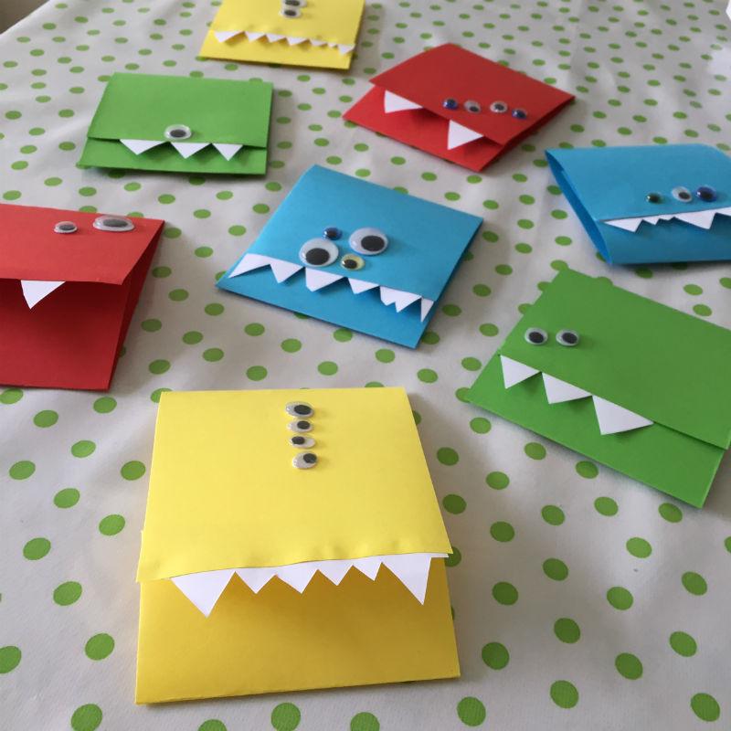 Beroemd Monster uitnodigingen maak je simpel zelf met deze DIY! @EA87