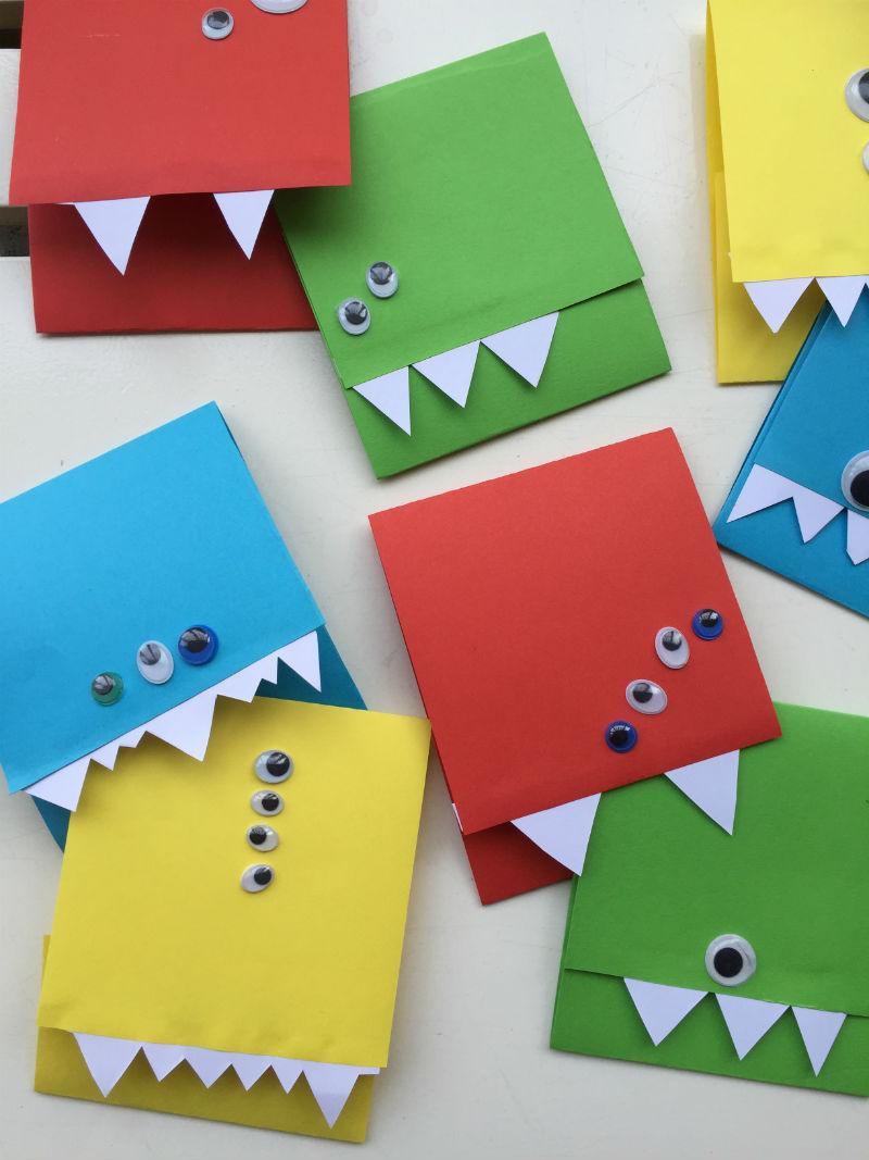 Extreem Monster uitnodigingen maak je simpel zelf met deze DIY! @IQ87