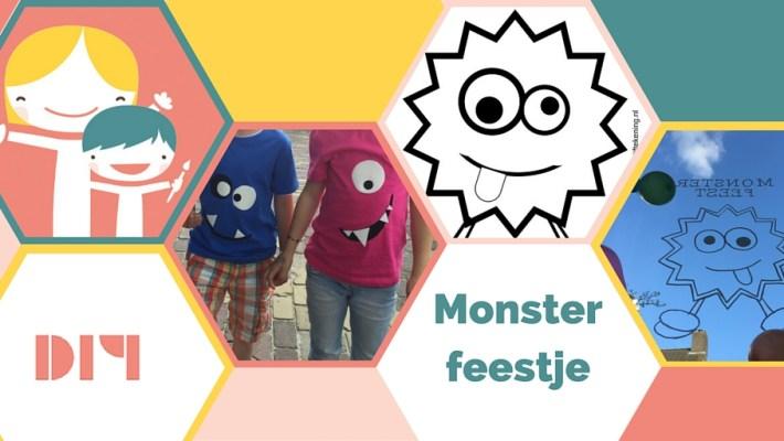monster feest, kinderfeest monsters,