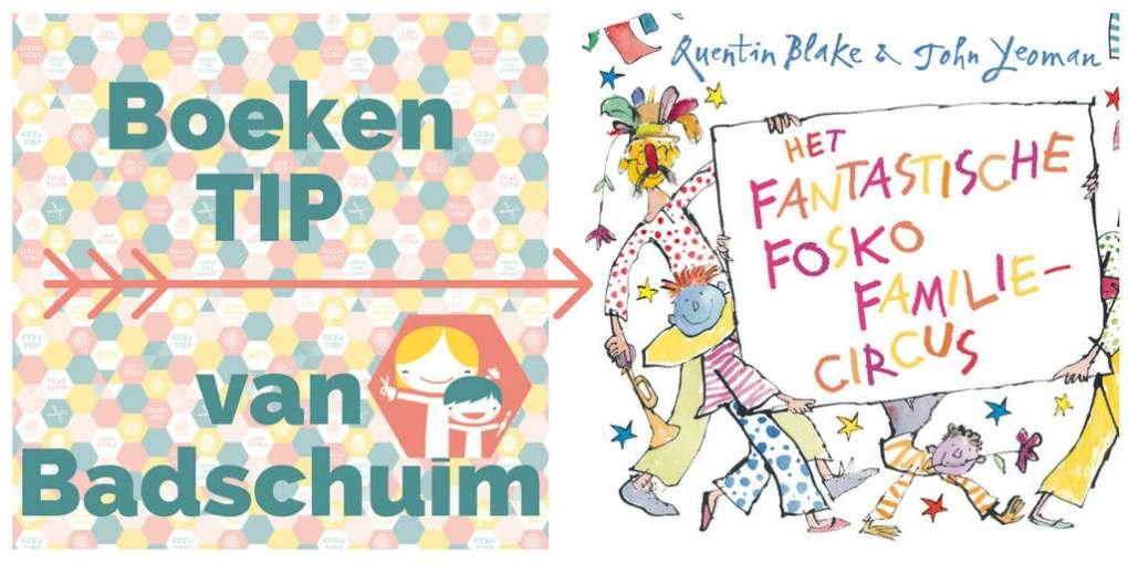 Een boek waar je vrolijk van wordt: het fantastische fosko familie circus