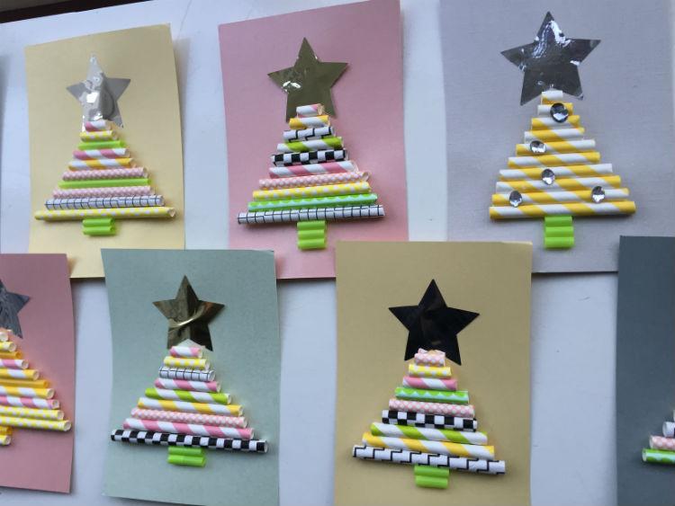 Genoeg DIY kerstkaart - Hippe kerstkaart zelf maken #DS94