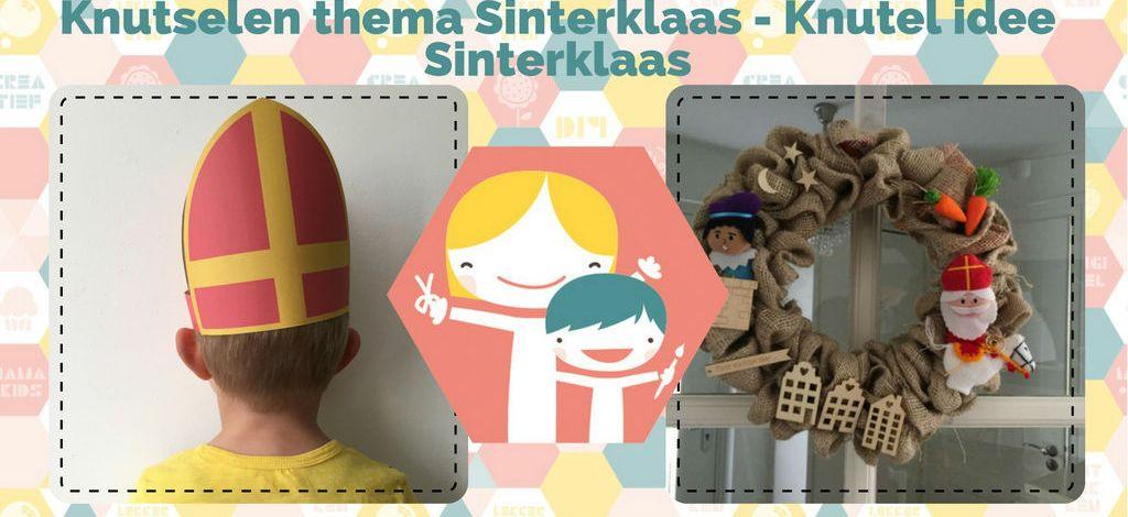 Genoeg Knutselen thema Sinterklaas - Knutel ideeën Sinterklaas #HG49