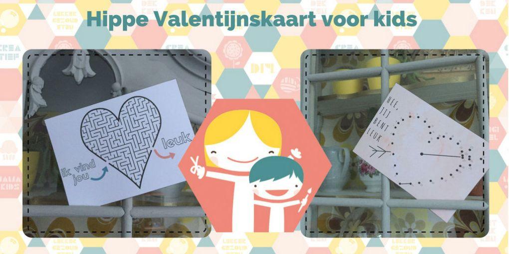 Leuke valentijnskaart voor kinderen – knutselen voor Valentijn