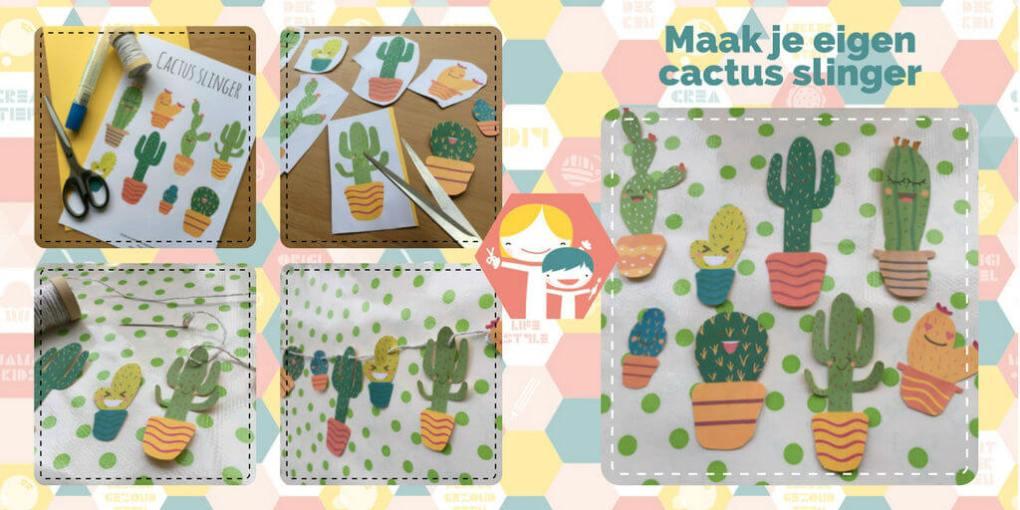 Cactus Slinger – Cactus DIY waar je super vrolijk van wordt!