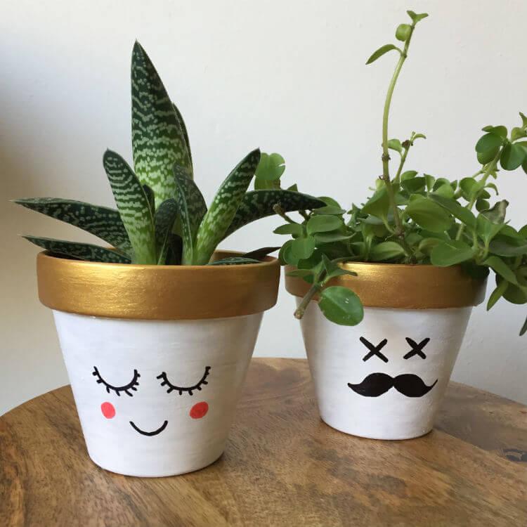 Terracotta bloempotjes verven - pimp je bloempot DIY_02
