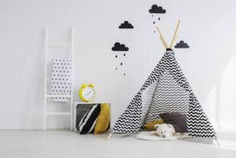 DIY: tipi-tent voor kinderen