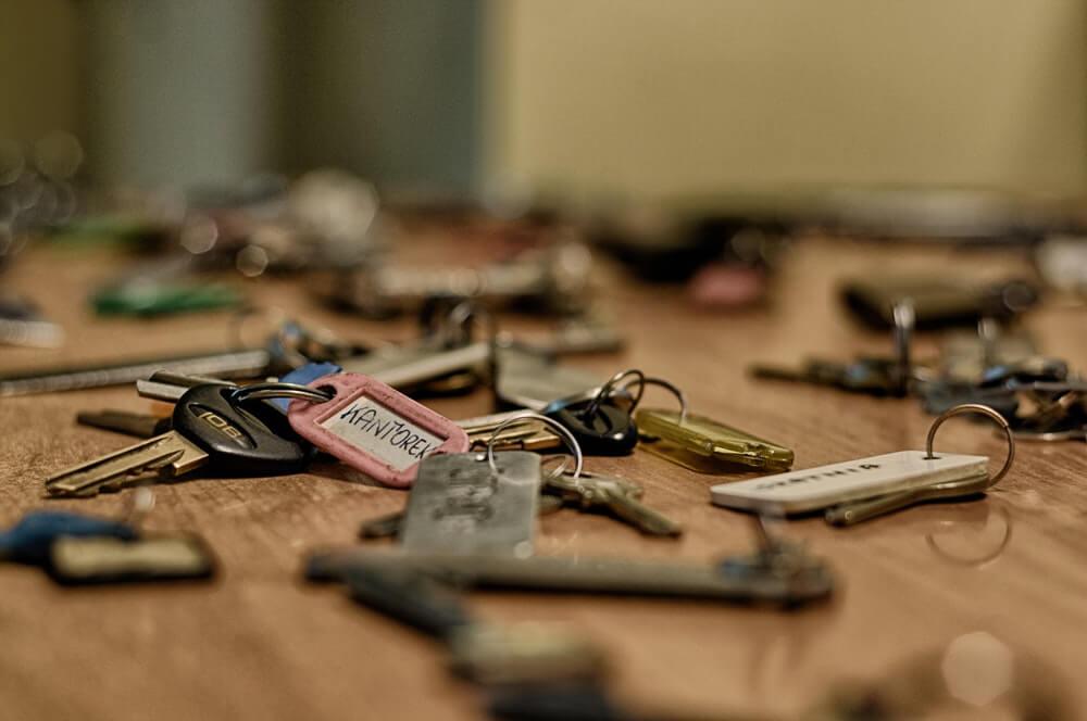 Nooit meer sleutels kwijtraken met dit sleutelrek