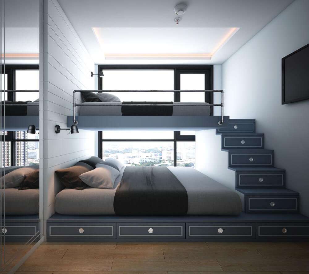 Verwonderend Een kleine slaapkamer inrichten • Badschuim FN-91