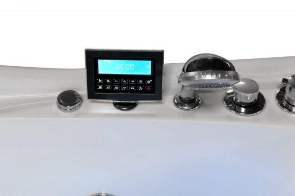 massagebadkar kontrollpanel