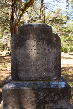 Born in 1797, died 1861