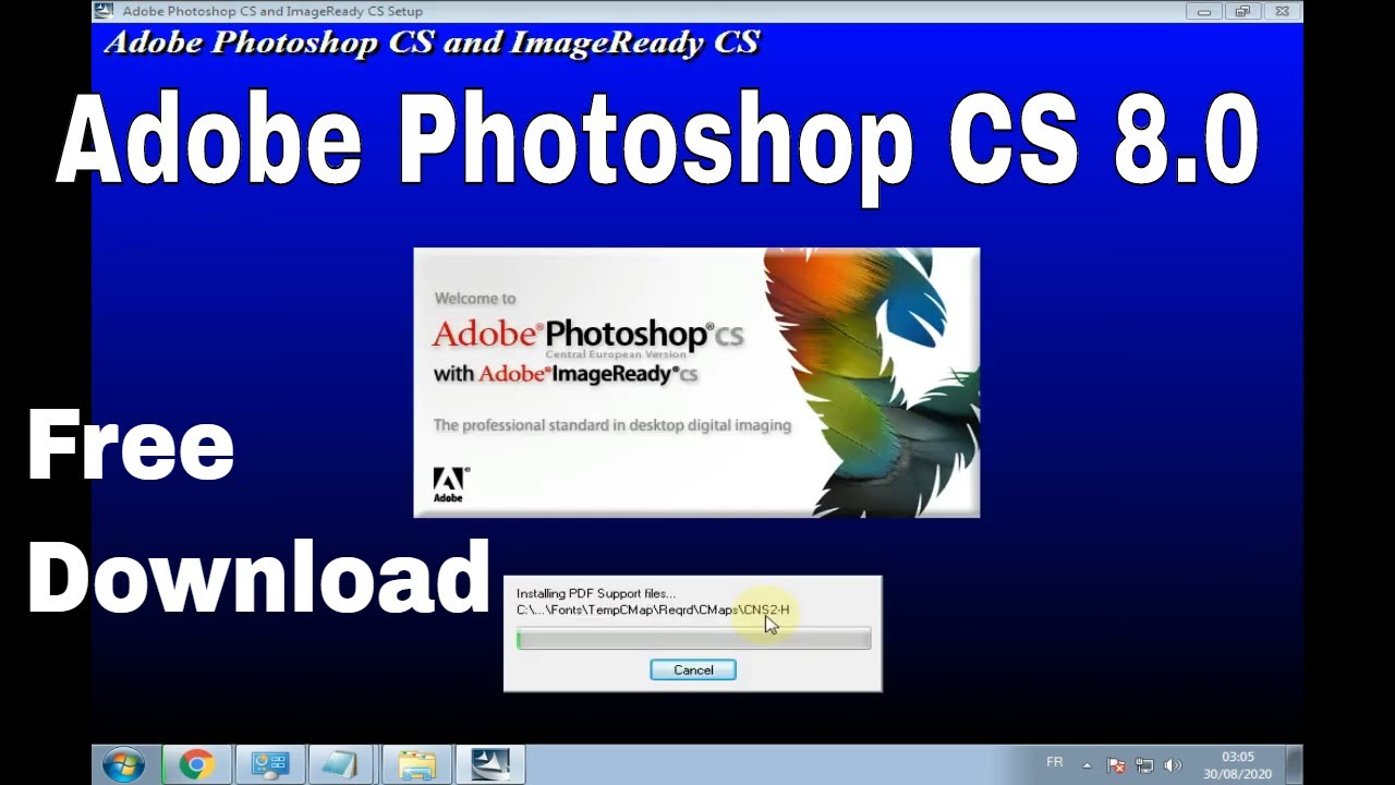 Adobe Photoshop CS 8.0 Free Download Full Version With Serial