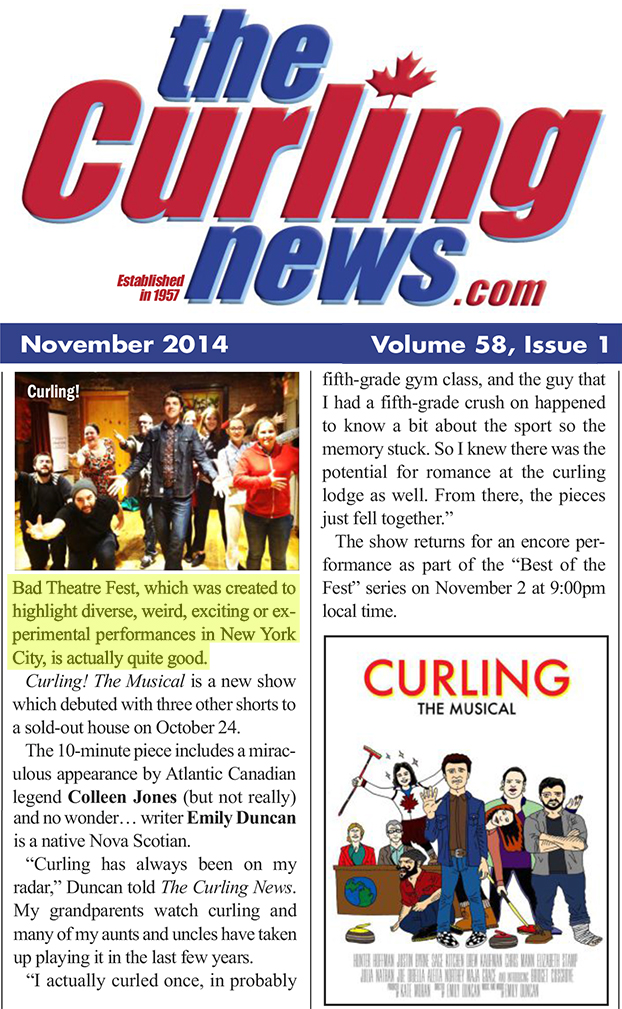 Curling New - 2014