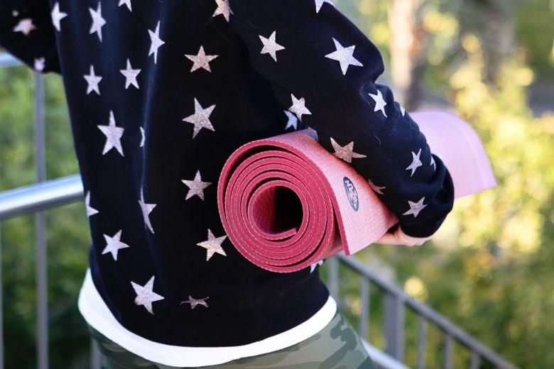 rose gold manduka yoga mat