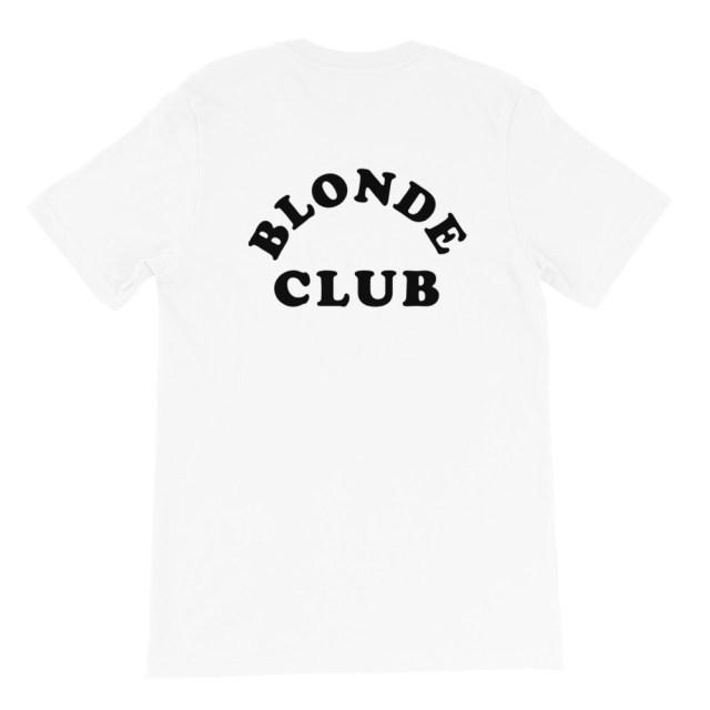 blonde club back