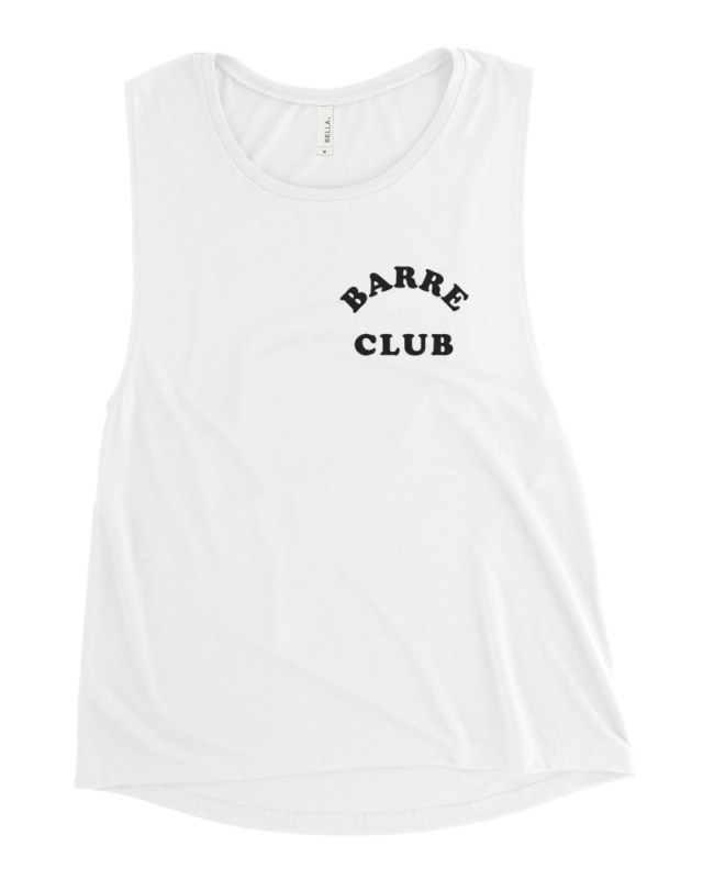 barre club muscle tank front