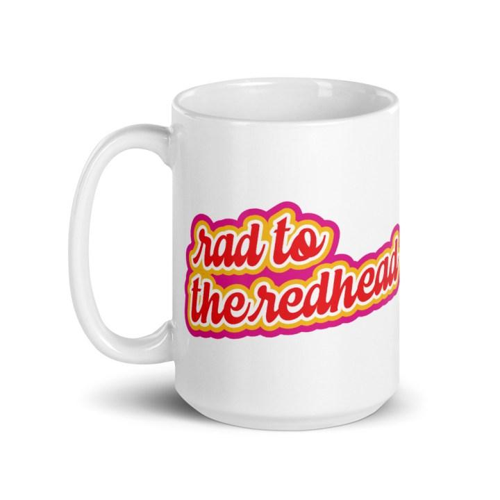redhead coffee mug tall 15 oz