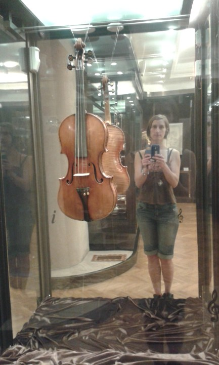 David Oistrakh's violin