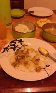 delicious food at Mama Raya's house