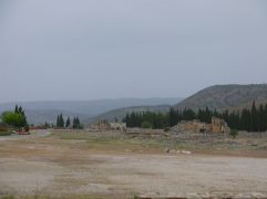Ruins of Hierapolis - this is just a small part of it