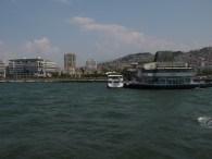 leaving Konak Iskelesi (port)