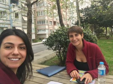 Learning Turkish with my teacher Elif - before
