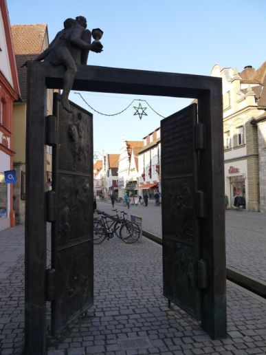Porta Vorchheimensis - a door telling the most important steps of Forchheim's history