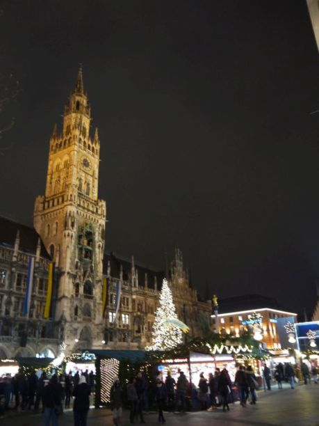 Christmas market on Marienplatz, Munich