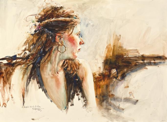 Fealing Lin Bad Watercolor Art