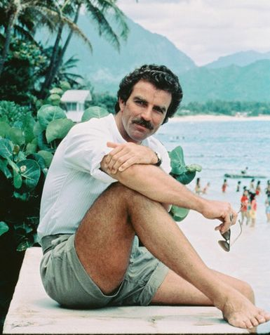 Bulge Kings, Bulge, Tom Selleck, Magnum PI, Magnum, Cock, Balls, Underwear, Tight, Pants, Shorts, Hawaii, Mustache, Daddy, Daddie