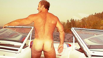 Dads on Boats, Naked Dads outdoors, Sean Gallard