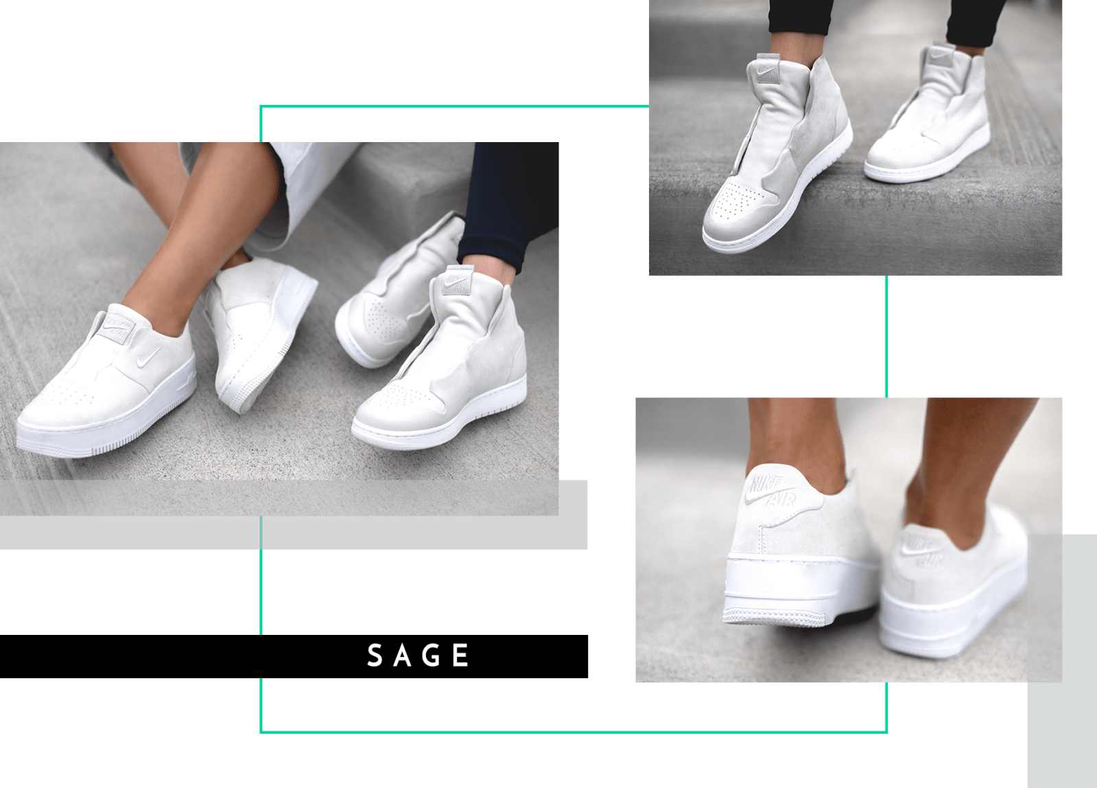 Nike The 1 Reimagined All Female Designers Collective Air Jordan 1 Air Force 1 Jester Lover Rebel Sage Explorer White Women Exclusive Editorial Interview Georgina James Marie Crow Where to Buy Release Date