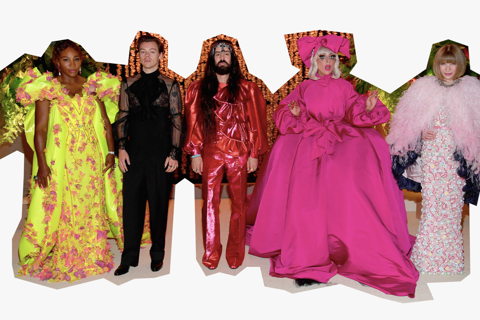 Harry Styles Fashion Evolution Career Gucci Met Gala Co-Chair Suit Album Release