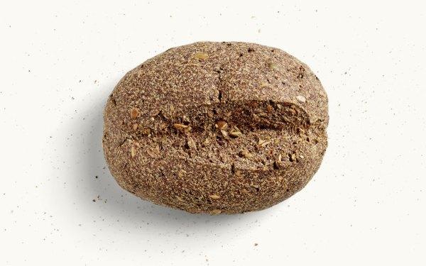 Ein MEHL-OHNE Brot pur