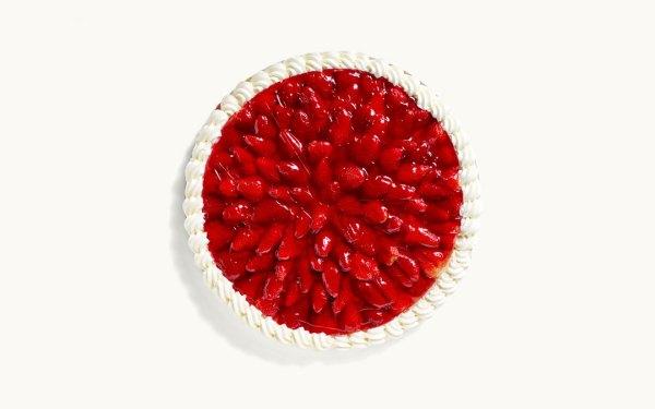 Eine Erdbeerwähe