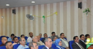 "Seminar entitled ""Imam Ali's Linguistic Creativity"" at College of Basic Education"