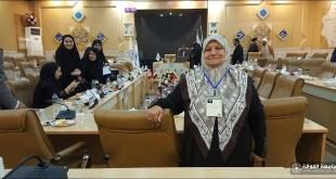 تدريسية من كلية التربية الأساسية تشارك في مؤتمر دولي أقامته جامعة العلوم والمعارف القرآنية في مدينة قم