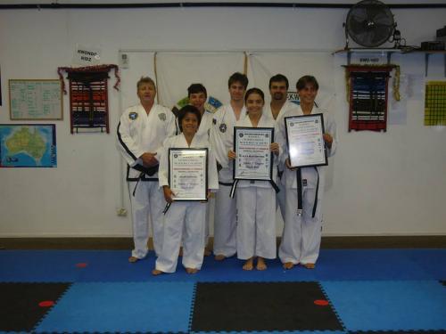 New Junior Black Belts