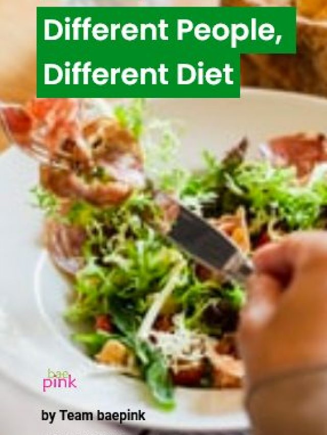 Different People, Different Diet