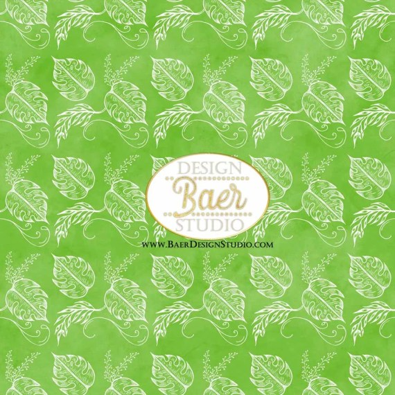 Palm Leaf Seamless Paper