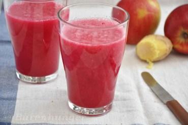 Apfel Rote Beete Ingwer Smoothie