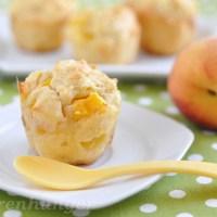 Pfirsich Joghurt Muffins
