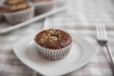 Schokoladen Walnuss Muffins